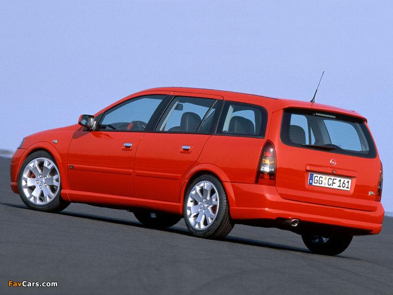 Pictures of Opel Astra OPC Caravan (G) 2002–04 (800 x 600)