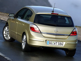 Pictures of Opel Astra Hatchback (H) 2004–07