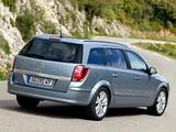 Pictures of Opel Astra Caravan (H) 2004–07