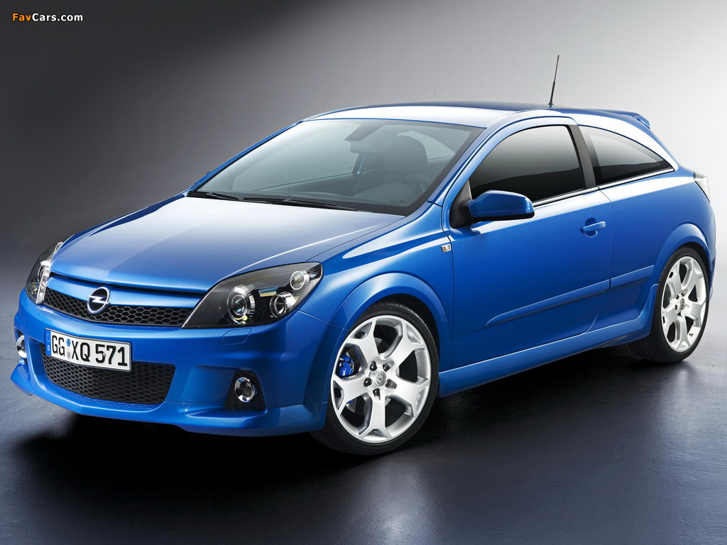 Pictures of Opel Astra OPC (H) 2005–10 (1024 x 768)