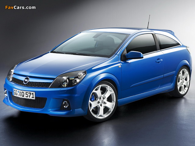 Pictures of Opel Astra OPC (H) 2005–10 (640 x 480)