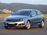 Pictures of Opel Astra GTC (H) 2005–11