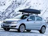 Pictures of Opel Astra Hatchback (H) 2007
