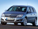 Pictures of Opel Astra Caravan (H) 2007