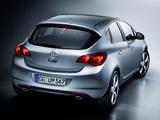 Pictures of Opel Astra 5-door (J) 2009