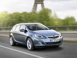 Pictures of Opel Astra Sports Tourer (J) 2010–12