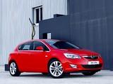 Pictures of Opel Astra 5-door ZA-spec (J) 2010