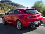 Pictures of Opel Astra GTC (J) 2011