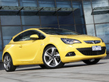 Pictures of Opel Astra GTC AU-spec (J) 2012–13