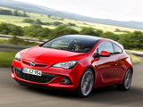 Pictures of Opel Astra GSI BiTurbo Panoramic (J) 2012