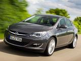 Pictures of Opel Astra Sedan (J) 2012