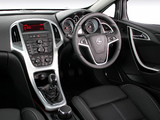 Pictures of Opel Astra GTC ZA-spec (J) 2012