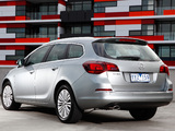 Pictures of Opel Astra Sports Tourer AU-spec (J) 2012–13