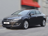 Pictures of Opel Astra Sedan ZA-spec (J) 2013