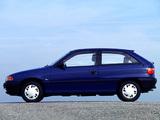 Opel Astra 3-door (F) 1991–94 wallpapers