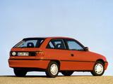 Opel Astra 3-door (F) 1994–98 wallpapers