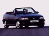 Opel Astra Cabrio (F) 1994–99 wallpapers