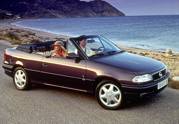 opel astra cabrio f 1994 99 wallpapers. Black Bedroom Furniture Sets. Home Design Ideas