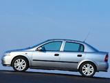 Opel Astra Sedan (G) 1998–2004 wallpapers