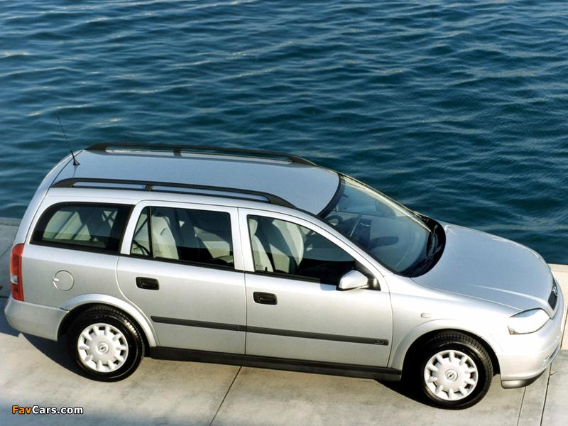 Opel Astra Caravan (G) 1998–2004 wallpapers (800 x 600)