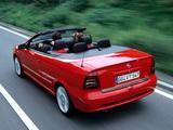 Opel Astra Cabrio Linea Rossa (G) 2003–04 wallpapers