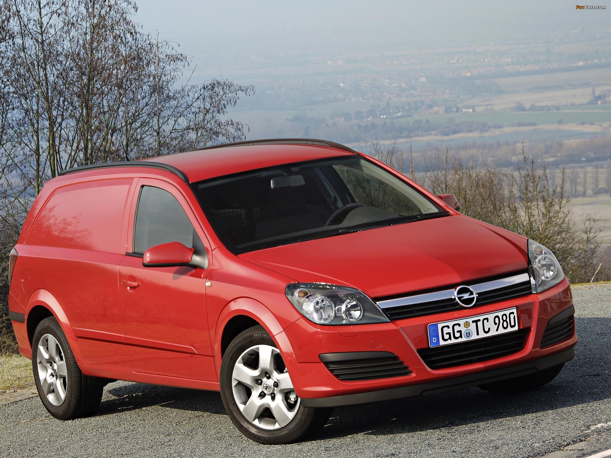 Opel Astravan (H) 2006–10 wallpapers (2048 x 1536)