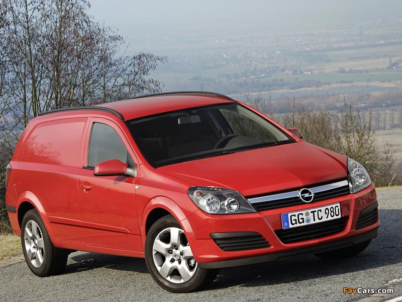 Opel Astravan (H) 2006–10 wallpapers (800 x 600)