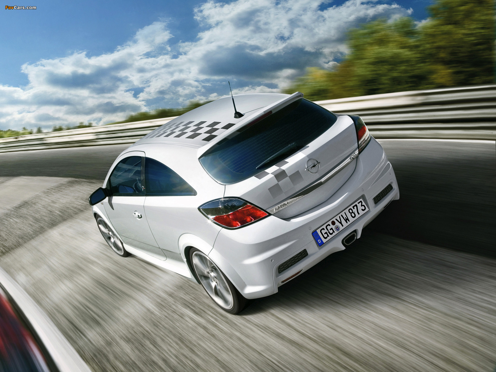 Opel Astra Opc Nürburgring Edition H 2008 Wallpapers 1600x1200