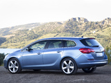 Opel Astra Sports Tourer (J) 2010–12 wallpapers