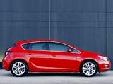 Opel Astra 5-door ZA-spec (J) 2010 wallpapers