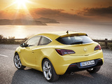 Opel Astra GTC (J) 2011 wallpapers