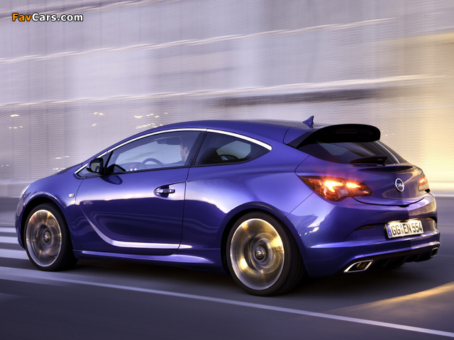 Opel Astra OPC (J) 2011 wallpapers (640 x 480)