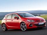 Opel Astra BiTurbo (J) 2012 wallpapers