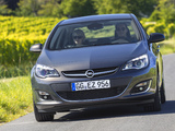 Opel Astra Sedan (J) 2012 wallpapers