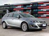 Opel Astra Sports Tourer AU-spec (J) 2012–13 wallpapers