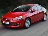Opel Astra Sedan ZA-spec (J) 2013 wallpapers