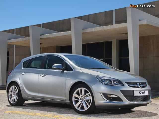 Opel Astra ZA-spec (J) 2013 wallpapers (640 x 480)