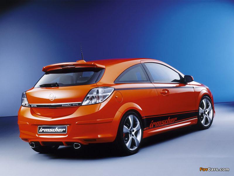 Irmscher Opel Astra GTC Sondermodell (H) wallpapers (800 x 600)