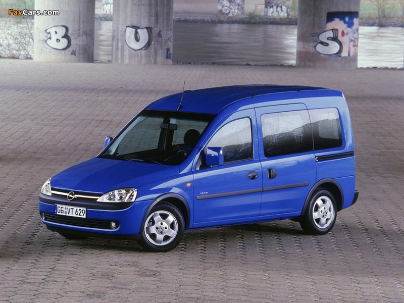 Opel Combo Tour (C) 2001–05 photos (800 x 600)