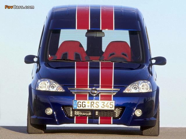 Opel Combo Eau Rouge Concept (C) 2002 pictures (640 x 480)