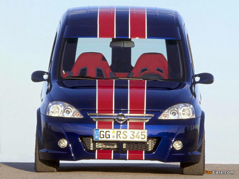 Opel Combo Eau Rouge Concept (C) 2002 pictures (800 x 600)