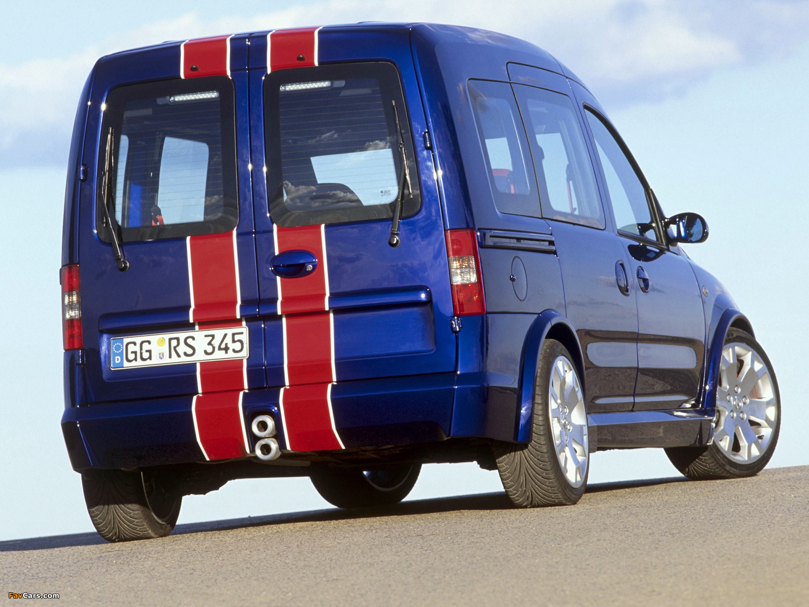 Photos of Opel Combo Eau Rouge Concept (C) 2002 (1600 x 1200)
