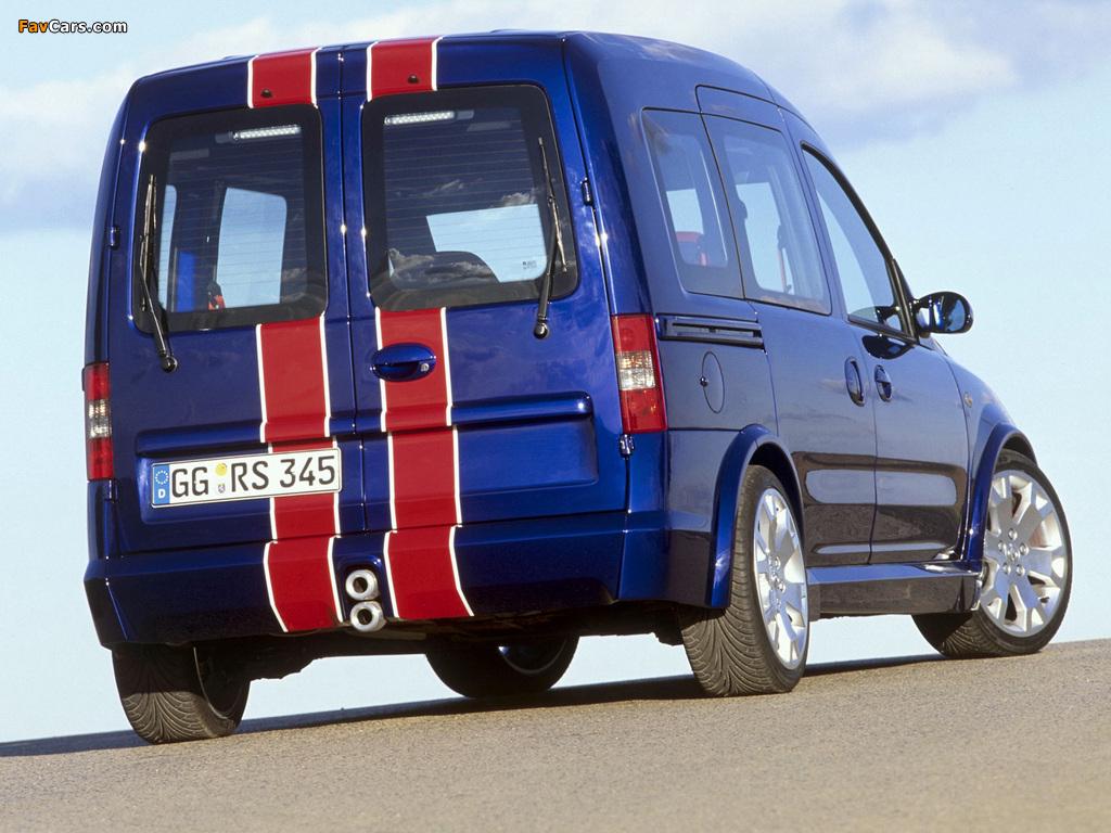 Photos of Opel Combo Eau Rouge Concept (C) 2002 (1024 x 768)