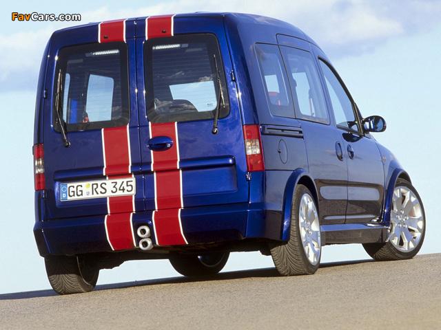 Photos of Opel Combo Eau Rouge Concept (C) 2002 (640 x 480)