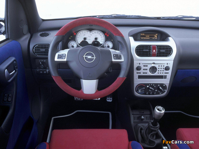 Pictures of Opel Combo Eau Rouge Concept (C) 2002 (640 x 480)