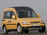 Opel Combo Tour Tramp (C) 2005–11 wallpapers