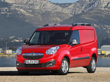 Opel Combo SWB Cargo (D) 2011 wallpapers