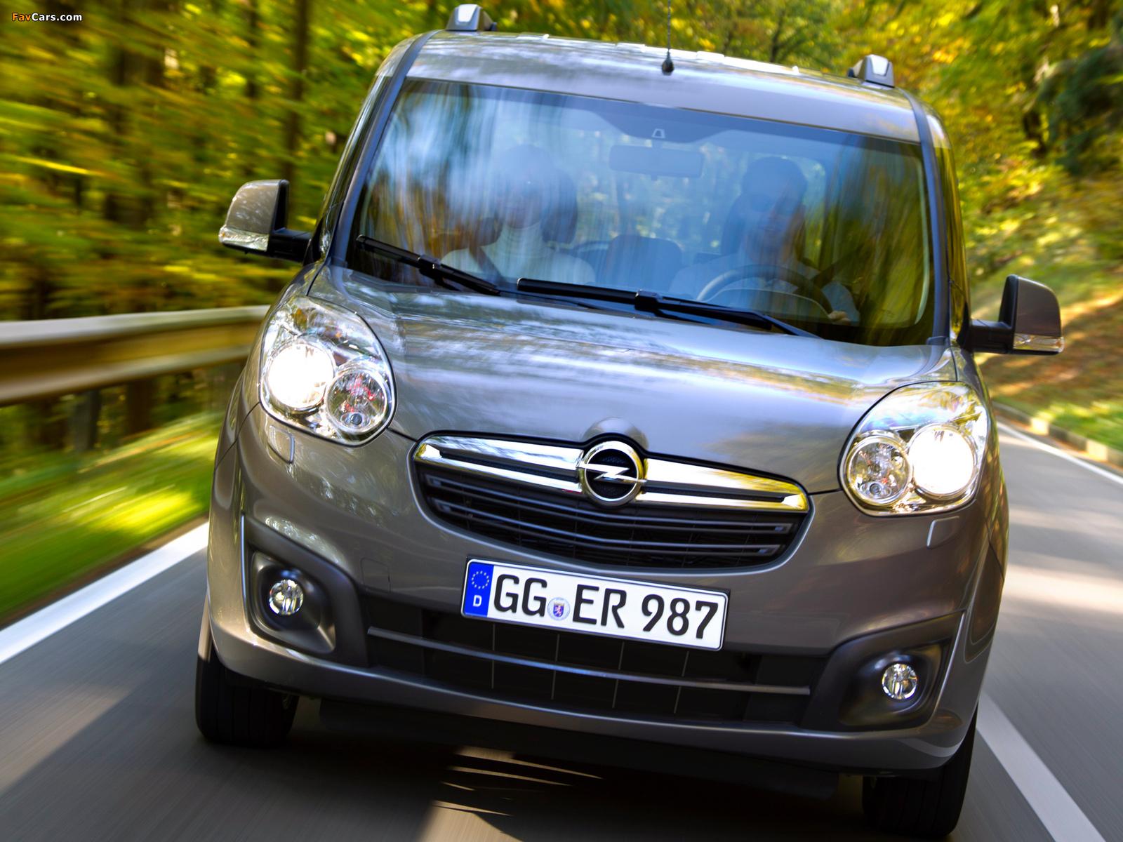 Opel Combo Tour (D) 2011 wallpapers (1600 x 1200)