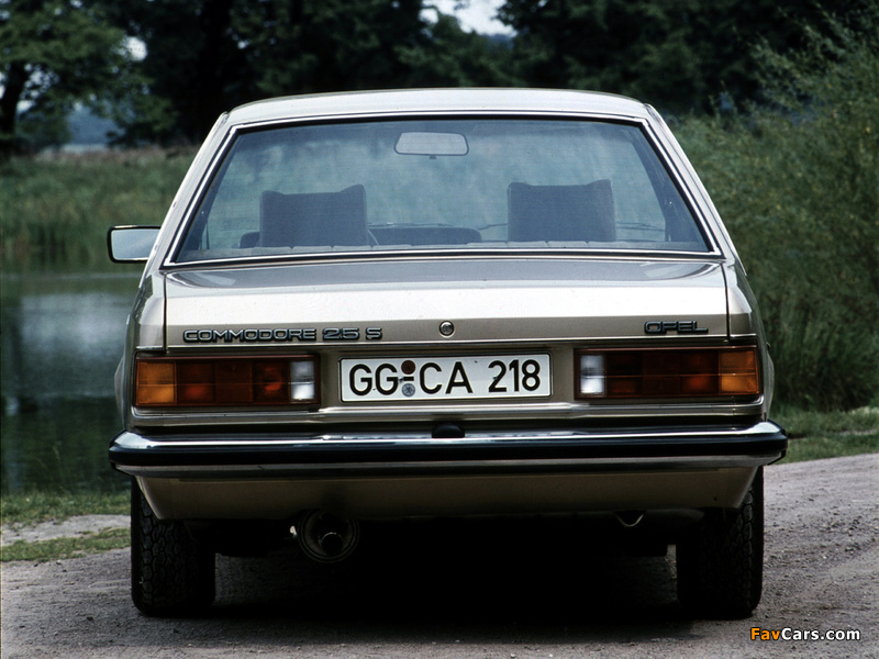 Images of Opel Commodore (C) 1978–82 (800 x 600)