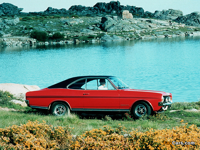 Opel Commodore GS/E Coupe (A) 1967–71 wallpapers (640 x 480)